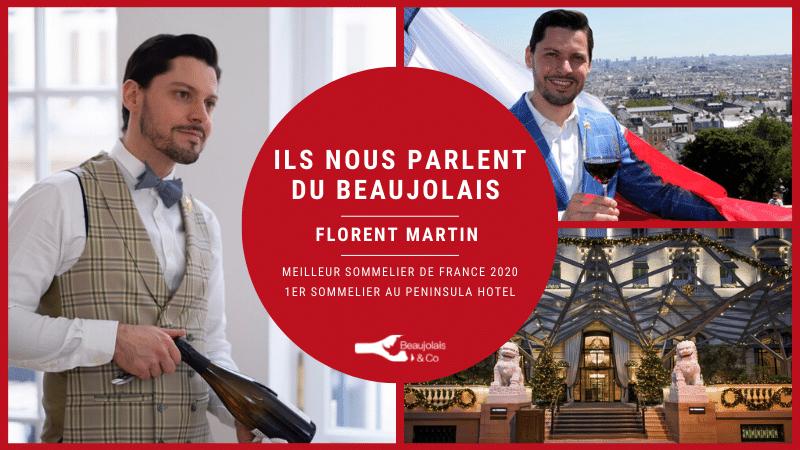 Florent Martin interview beaujolais